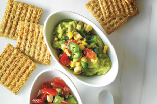 Layered Guacamole Dip Recipe