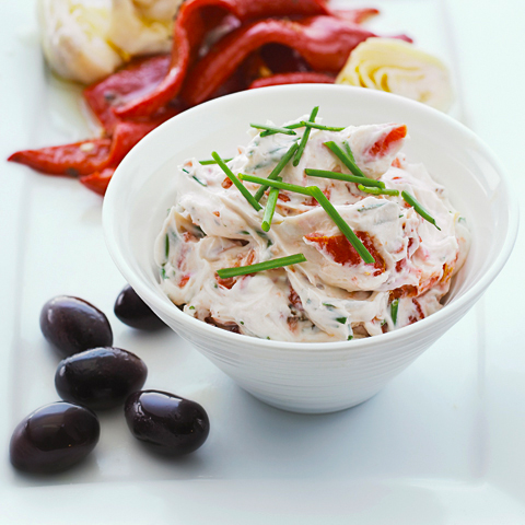 Sun-Dried Tomato & Garlic Dip Recipe