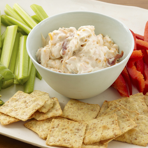 Quebec Maple Syrup & Bacon Dip Recipe