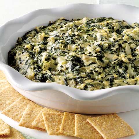 Savory Spinach-Artichoke Dip Recipe