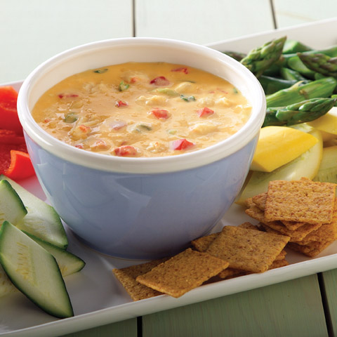 Hot 'N Cheesy Crab Dip Recipe