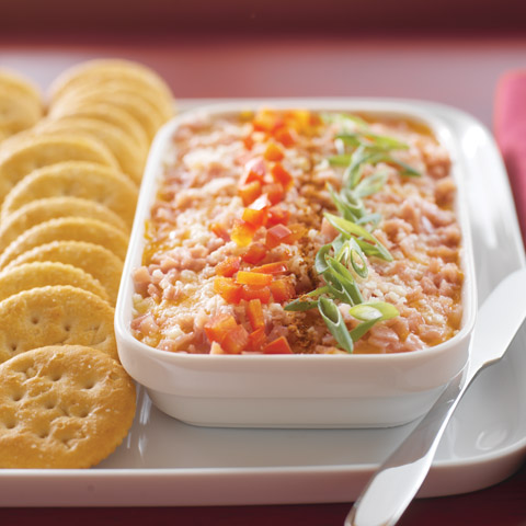 Savory Three-Cheese Spread Recipe
