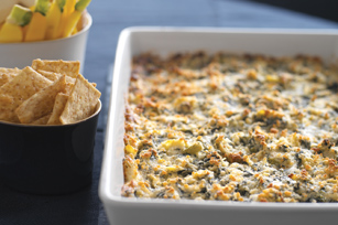 Baked Triple-Veggie Dip Recipe