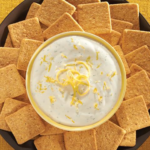 Lemon-Goat Cheese Dip Recipe
