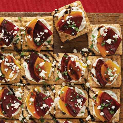 "Roasted Beet ""Flatbread"" Recipe"