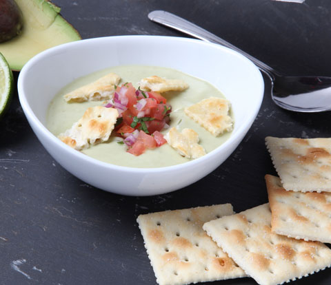 Chilled Avocado Soup with PREMIUM Saltines Recipe