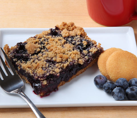 Blueberry Bars made with NILLA Wafers Recipe