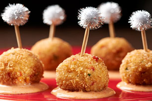 RITZ Crab Balls with Sriracha Aioli  Recipe