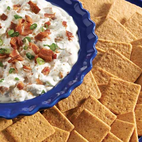 Bacon-Blue Cheese Dip Recipe