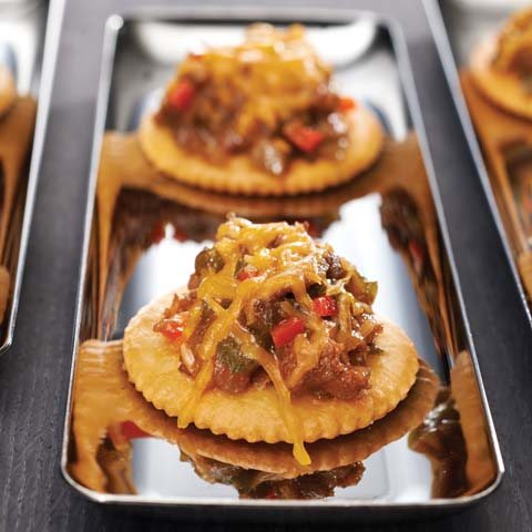 BBQ Beef & Cheese Toppers Recipe