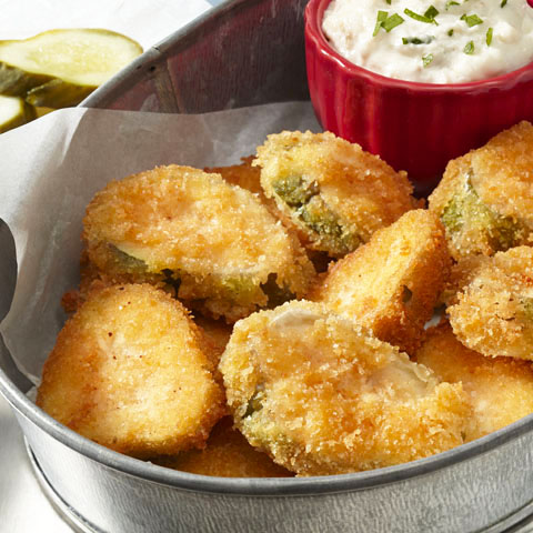 RITZ Fried Pickles Recipe