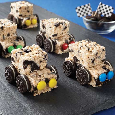 OREO Crispy Treat Cars Recipe