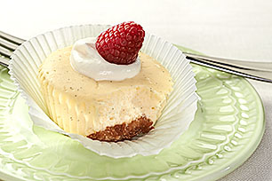 Mini Vanilla Bean Cheesecakes Recipe