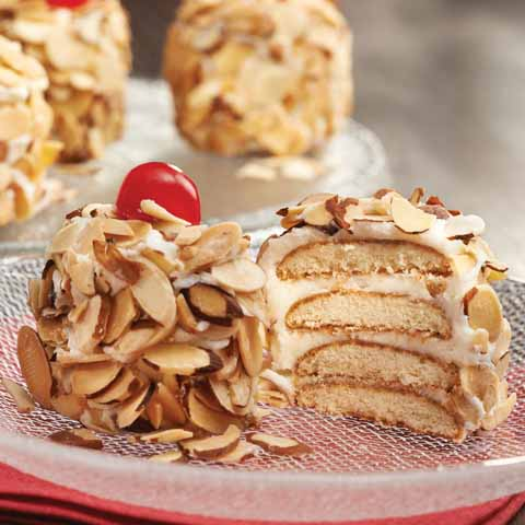 "Toasted Almond Mini  ""Cakes"" Recipe"