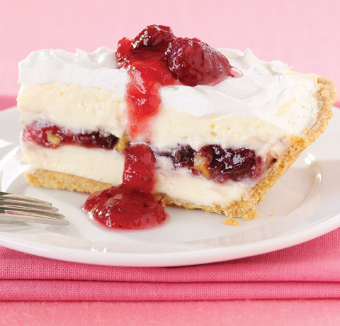 Cranberry-Walnut Cheesecake Pie Recipe