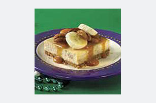 Bananas Foster Cheesecake Squares Recipe
