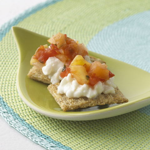 Salsa Cottage Snacks Recipe