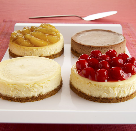 Mix 'n Match Mini Cheesecakes Recipe