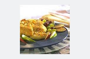 Honey Mustard Brie Amandine Recipe