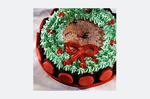 Holiday Wreath Cake Recipe