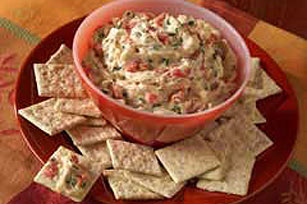 Red Pepper Cheese Dip Recipe