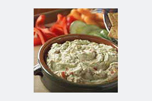 Cheesy Guacamole Dip Recipe