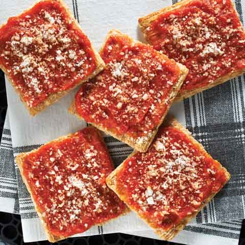 TRISCUIT Pizza Crackers Recipe