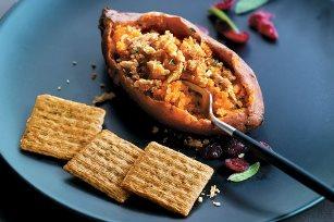 Cranberry & Sage Candied Sweet Potato Recipe