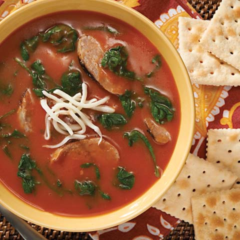 Jazzed-Up Tomato Soup Recipe