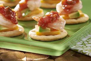 Holiday Shrimp Toppers Recipe