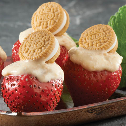 Tangy Lemon-OREO Strawberries Recipe