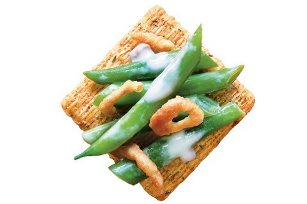 TRISCUIT Thanksgiving Green Bean Topper Recipe
