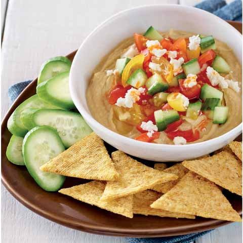 Layered Hummus Dip Recipe