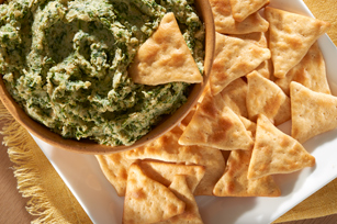 Spinach & Artichoke Hummus Recipe