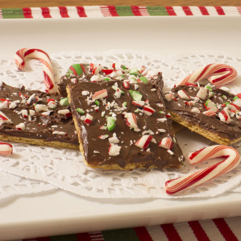 Peppermint-Graham Breakaways Recipe