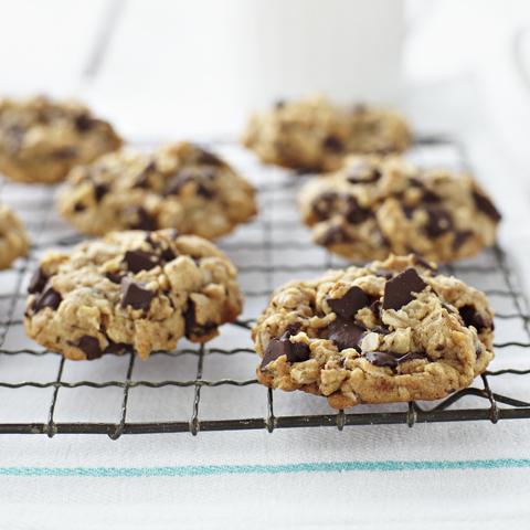 Biscuits à l'avoine avec morceaux de chocolat CADBURY recette