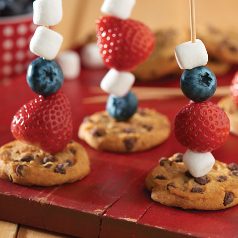 CHIPS AHOY! Fruit Skewers Recipe