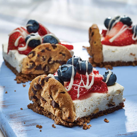 CHIPS AHOY! Patriotic Dessert Squares Recipe