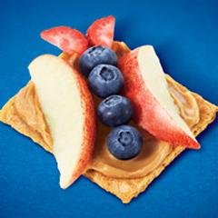 Peanut Butter 'n Fruit Butterflies Recipe