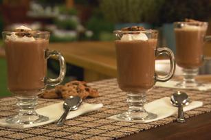 Café moka glacé aux pépites de chocolat recette