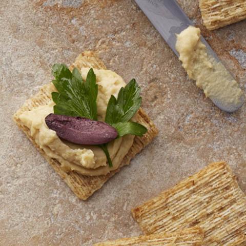 Mediterranean Hummus Toppers Recipe