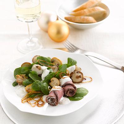 Philadelphia - Recipe - Feldsalat mit Frischkäse-Dressing