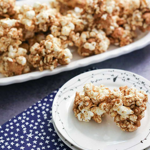 TEDDY GRAHAMS Mini Popcorn Balls Recipe