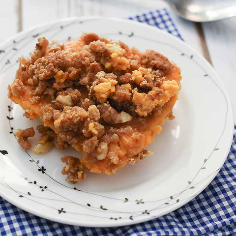 Sweet Potato Dessert Casserole Recipe