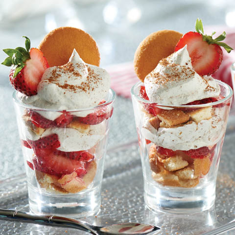 "NILLA Strawberry ""Shortcake"" with ""Gingerbread"" Cream Recipe"