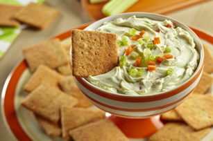 WHEAT THINS Buffalo Chicken Dip Recipe
