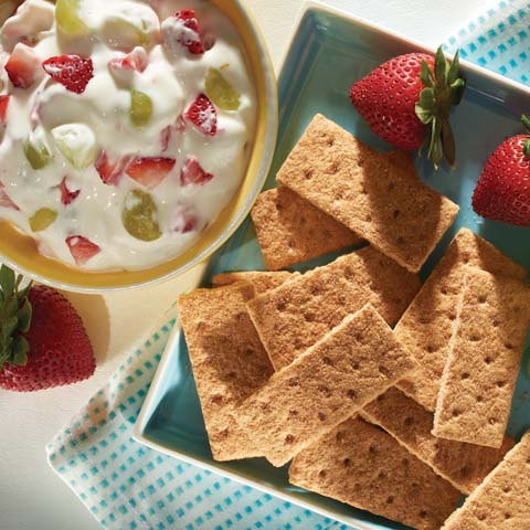 HONEY MAID Fruit Dip Recipe