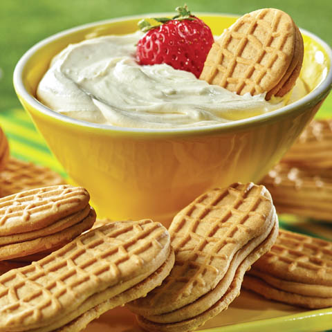 White Chocolate Mousse Dip Recipe