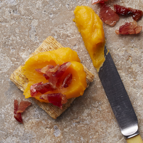 Butternut Squash-Bacon TRISCUIT Bites Recipe
