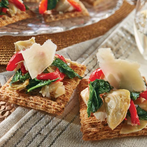 Artichoke & Kale Bruschetta Topper Recipe
